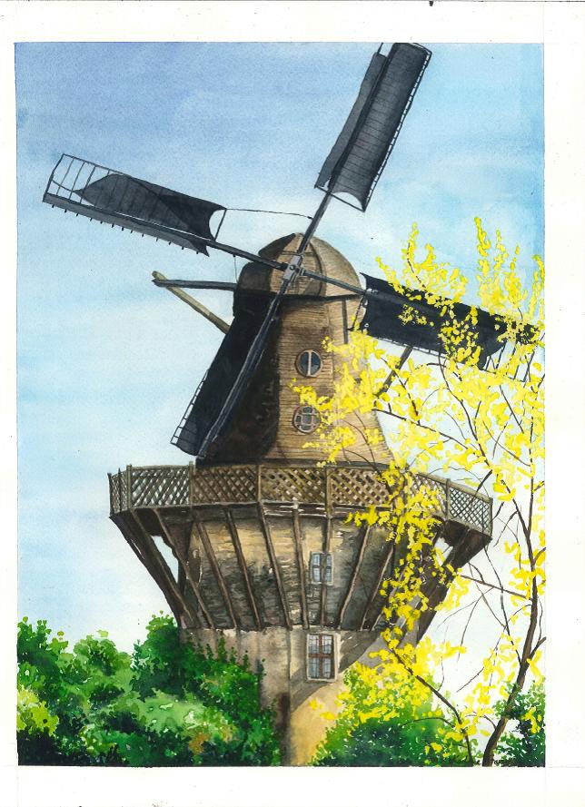 Sanscoucci PArk Windmill